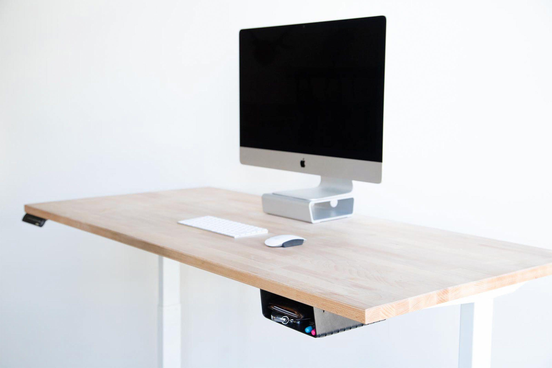 Elevationshelf The Under Desk Shelf That S Easy To Mount Elevationlab In 2020 Desk Shelves Under Desk Storage Storage