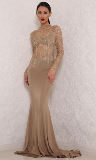 Long sheer dresses
