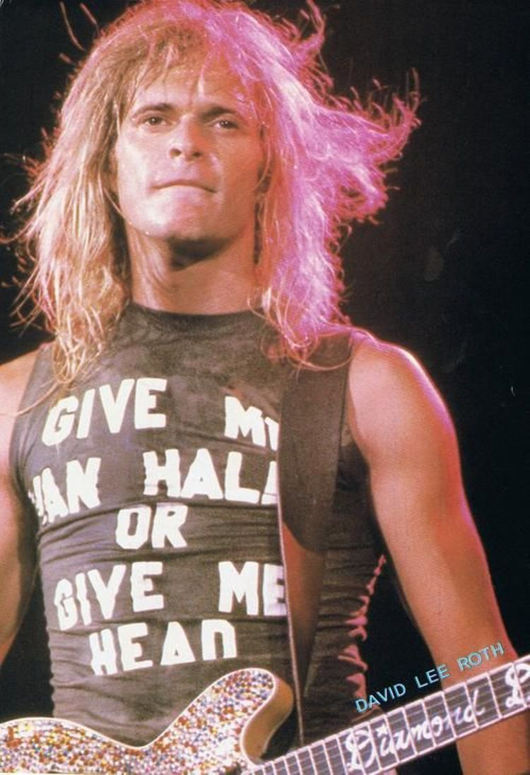 David Lee Roth David Lee Roth David Lee Van Halen