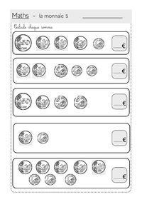La monnaie - calcul de sommes | Calcul, Monnaie et Rendre ...