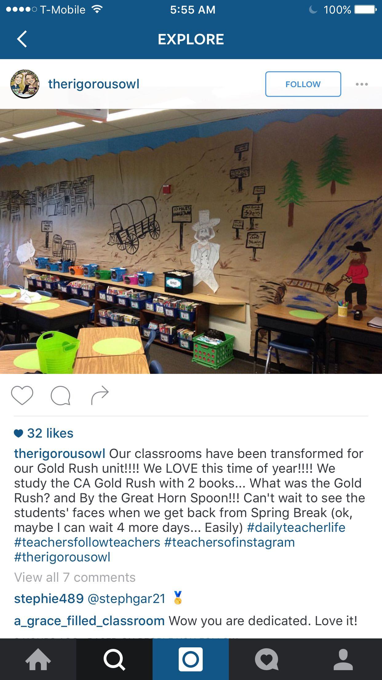 Classroom Westward Expansion