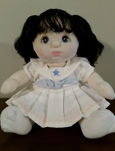 Vintage Mattel 1985 MY CHILD DOLL-Brown hair, blue eyes. So cute!