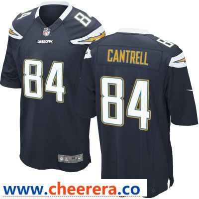 Wholesale Men\'s Los Angeles Chargers #84 Dylan Cantrell Navy Blue Team Color  hot sale z3zRqINx