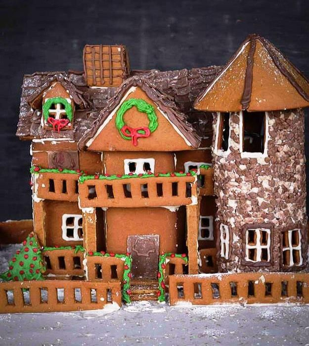 Magnificent Charmingly Cute Gingerbread House Ideas Winter Christmas Download Free Architecture Designs Scobabritishbridgeorg