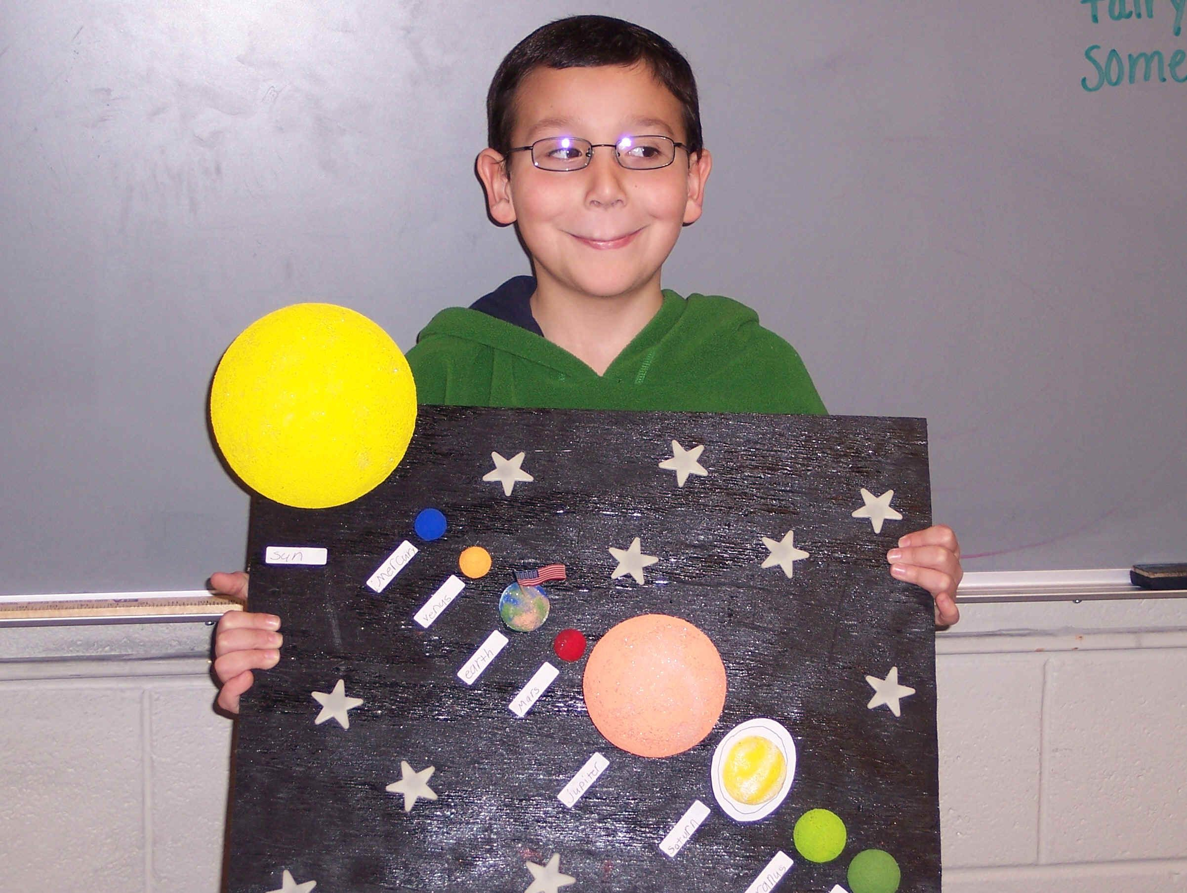 Solar System Diorama Project