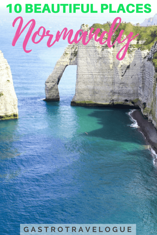 Beautiful places in Normandy