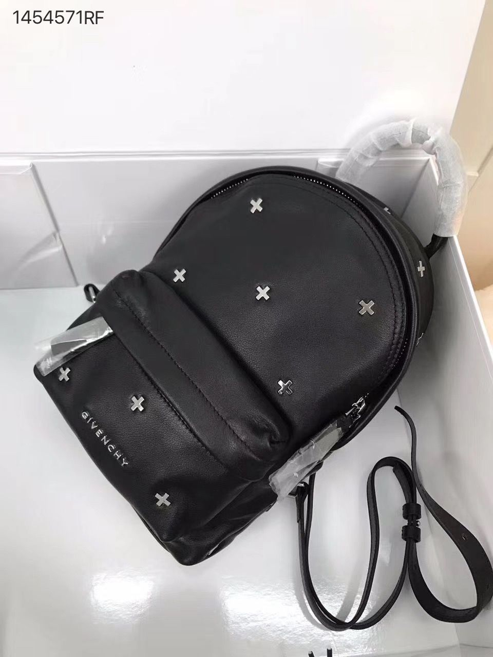 2f2260bbccbc Givenchy woman mini shoulders bag cross studs backpack