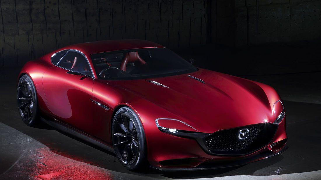 Mazda Rx Vision Gt3 Concept Virtuelle Wankel Rakete In 2020 Mazda Konzeptfahrzeuge Heckantrieb