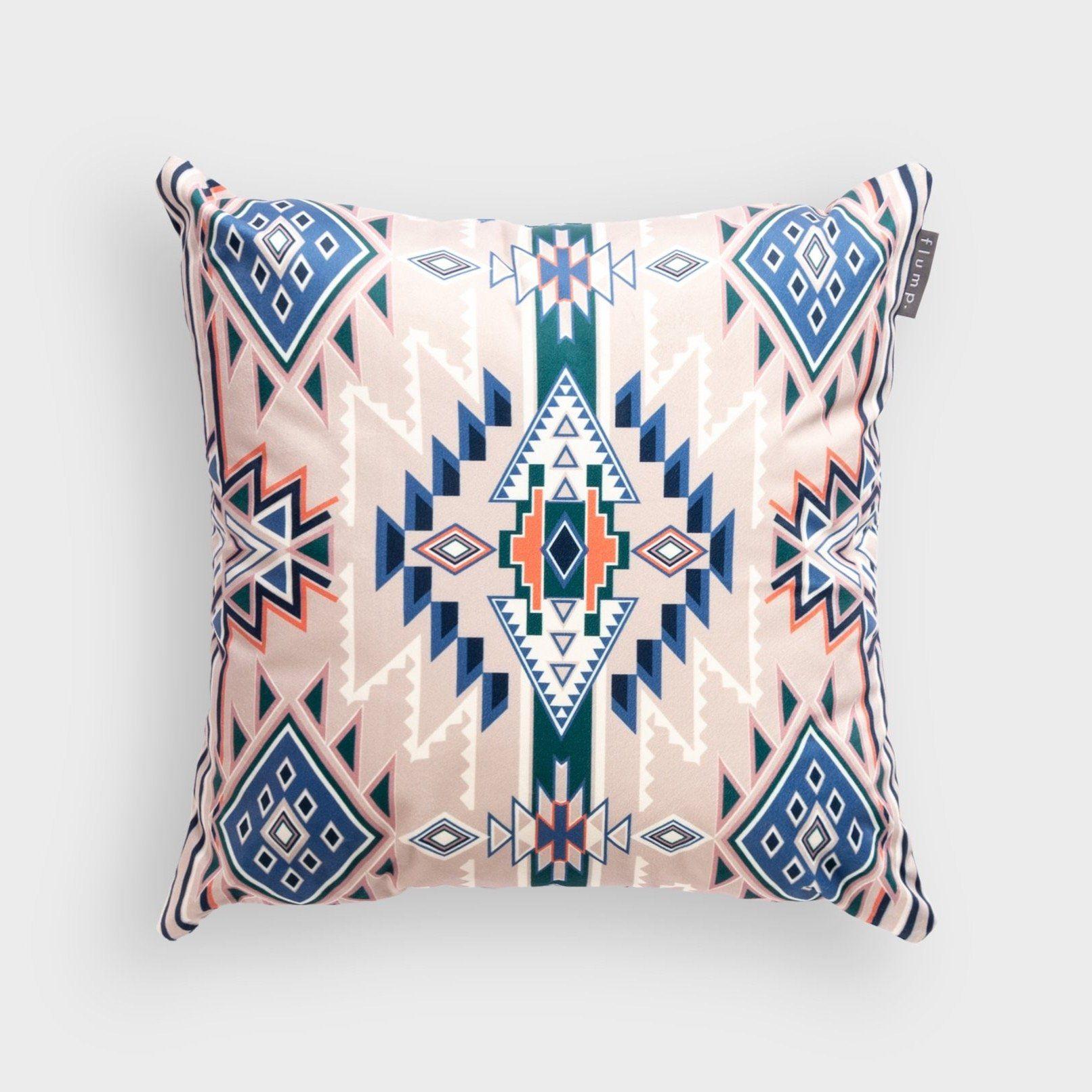 Photo of Aztec Neutral – Velvet Cushion – Regular