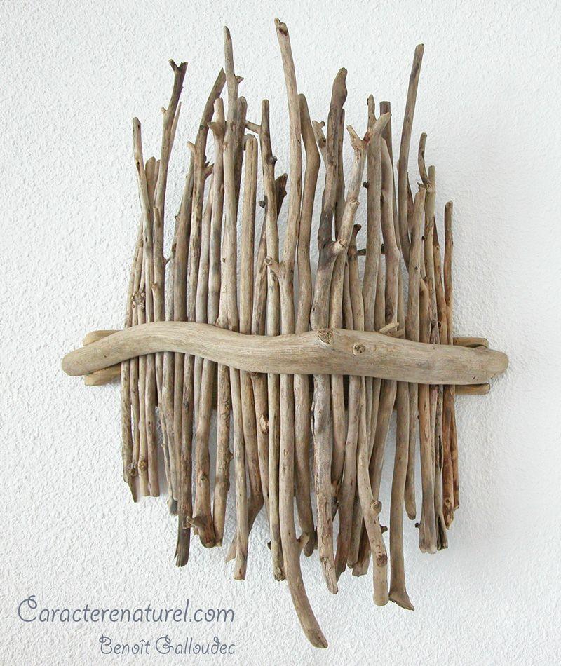 applique en bois flott caract re naturel maison bois. Black Bedroom Furniture Sets. Home Design Ideas