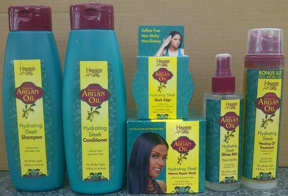 Details about Hawaiian Silky Moroccan Argan Oil Hair
