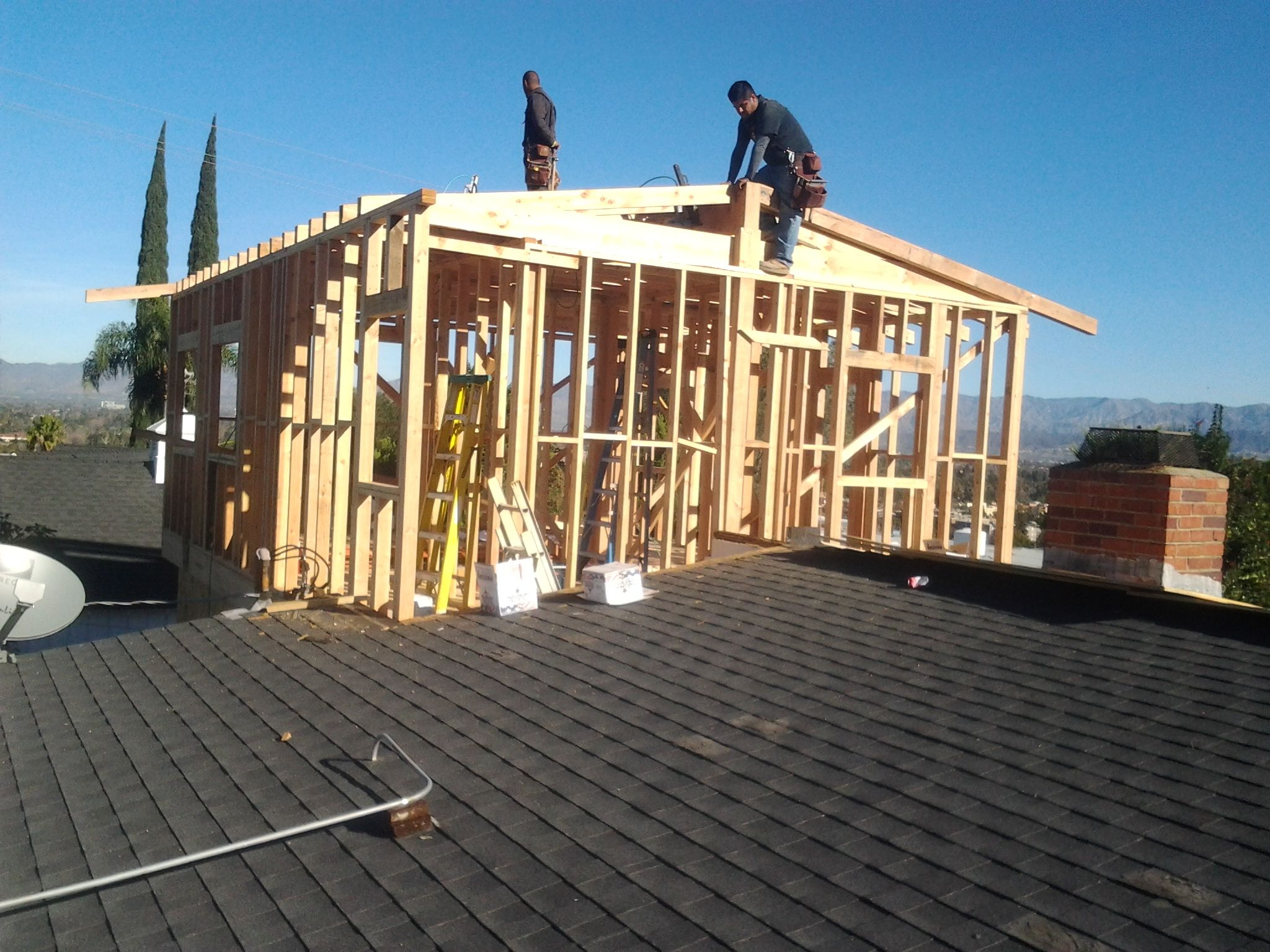 Garage Remodel and 2nd Story Addition wwwFriendlyContractorcom