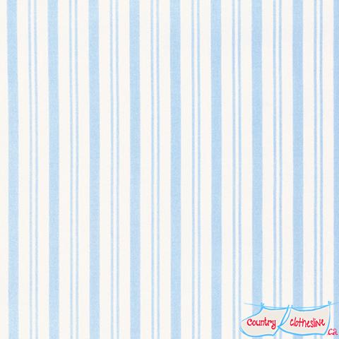 Sadie's Dance Card Blue Stripe Quilt Fabric by Tanya Whelan for ... : stripe quilt fabric - Adamdwight.com