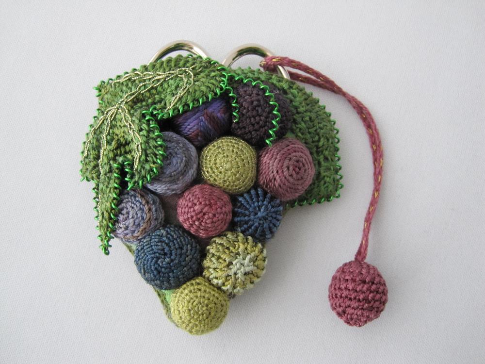 Amy Mitten - Grape Cluster Scissor Keep