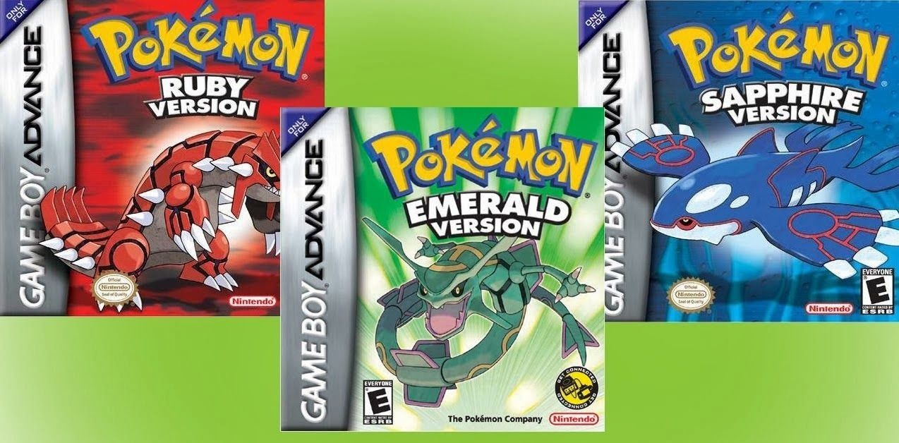 Download Pokemon Roms Gba Nds Ruby Sapphire Emerald 3ds