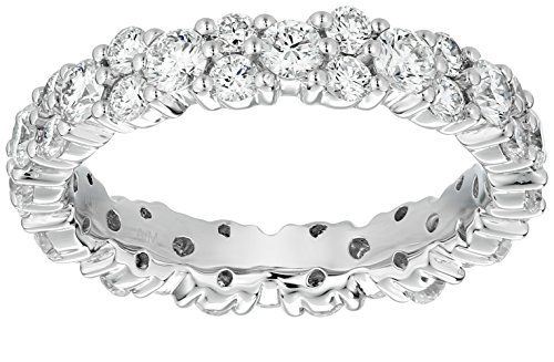 $+  Platinum Garland Diamond Eternity Ring (1 7/8 cttw, G-H Color, VS1-VS2 Clarity), Size 6