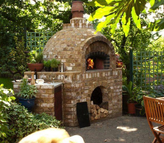 Four à pizza extérieur construisez-la étape par étape!
