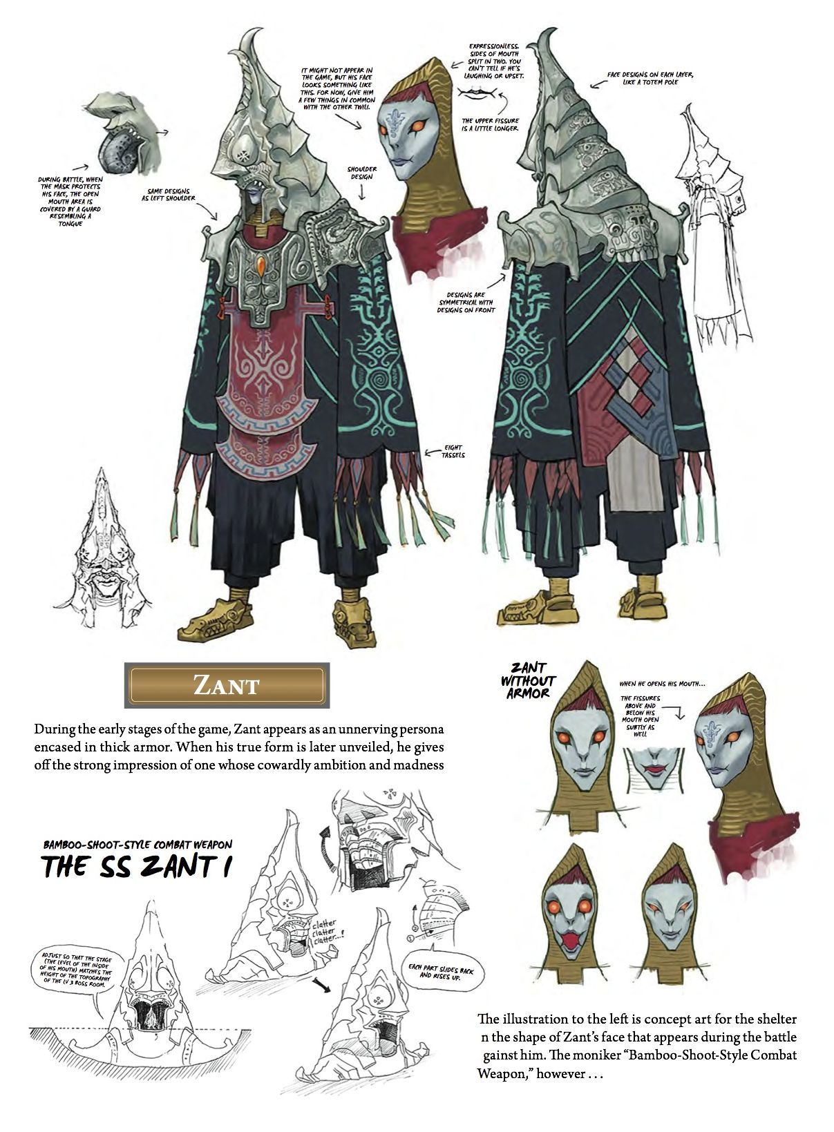 The Legend of Zelda: Twilight Princess - Zant concept art from ...