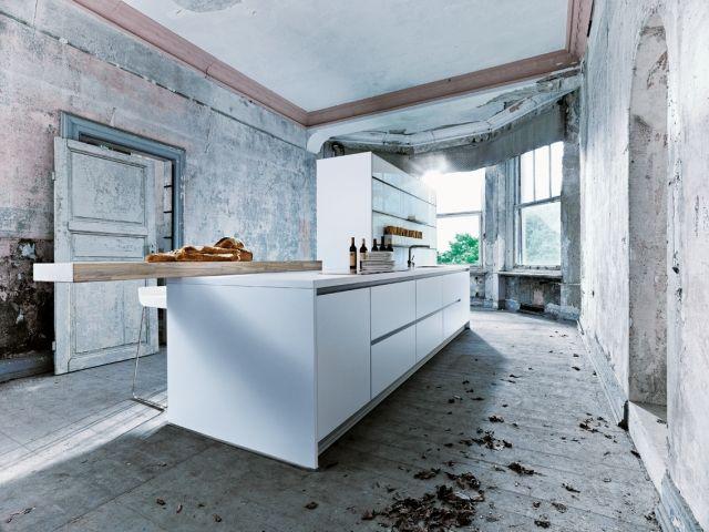 Perfekt Next125 Küchen Modernes Design Insel Weiß Matt NX800