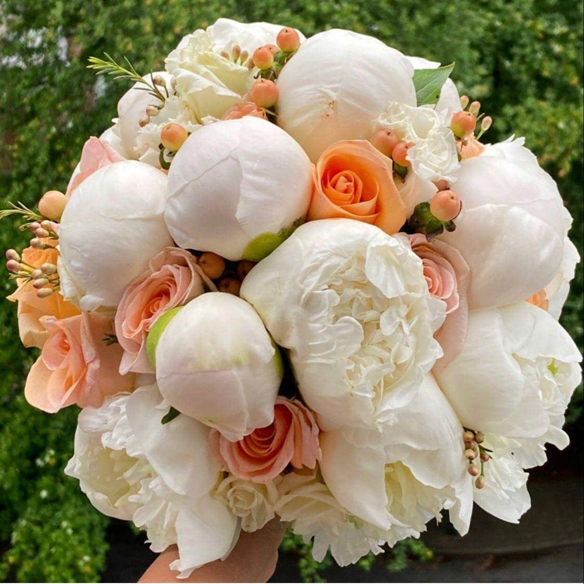 Peony Bouquet In 2020 Wedding Flowers Peonies Pink Wedding Flowers Wedding Flowers
