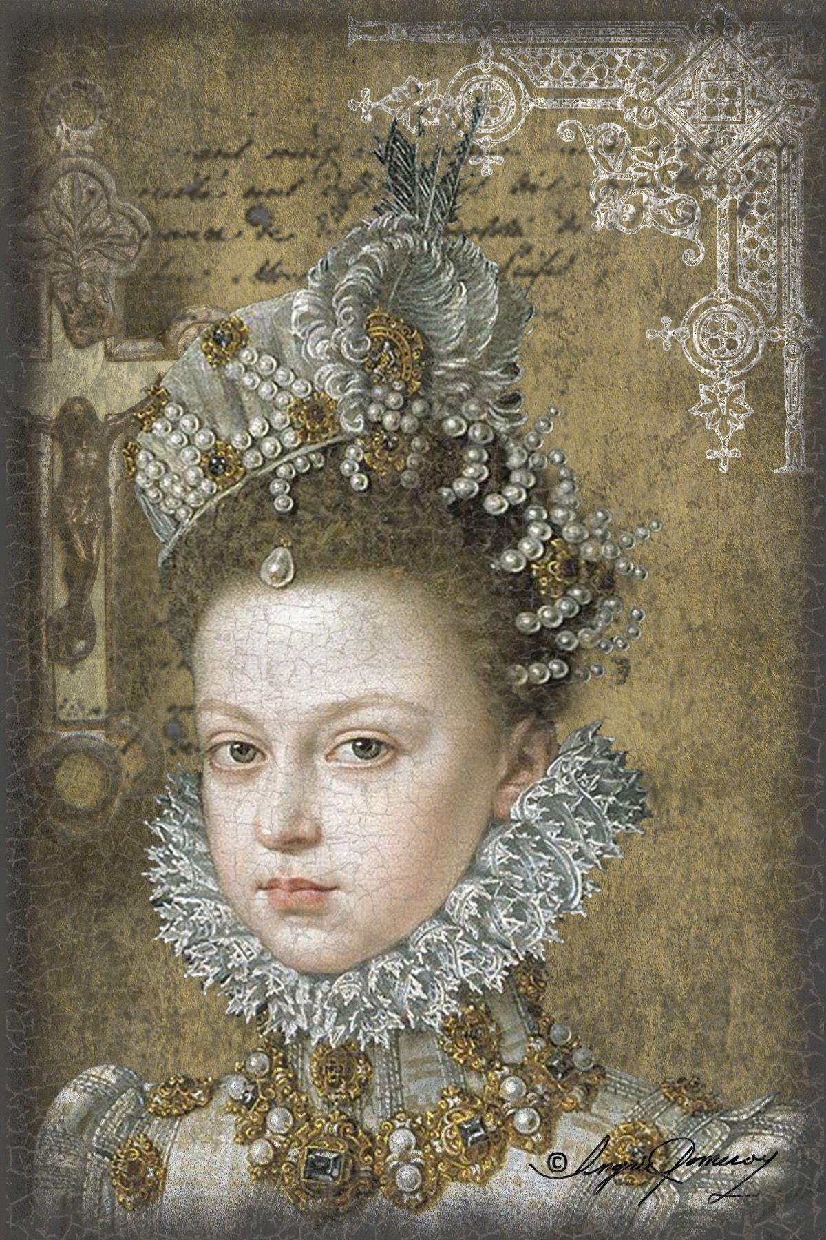 A Renaissance Queen Digital Collage. Art, Art images