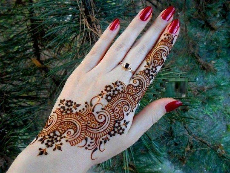 Mehndi Designs Hands Photo Gallery : Image result for mehendi designs palm salwar kameez