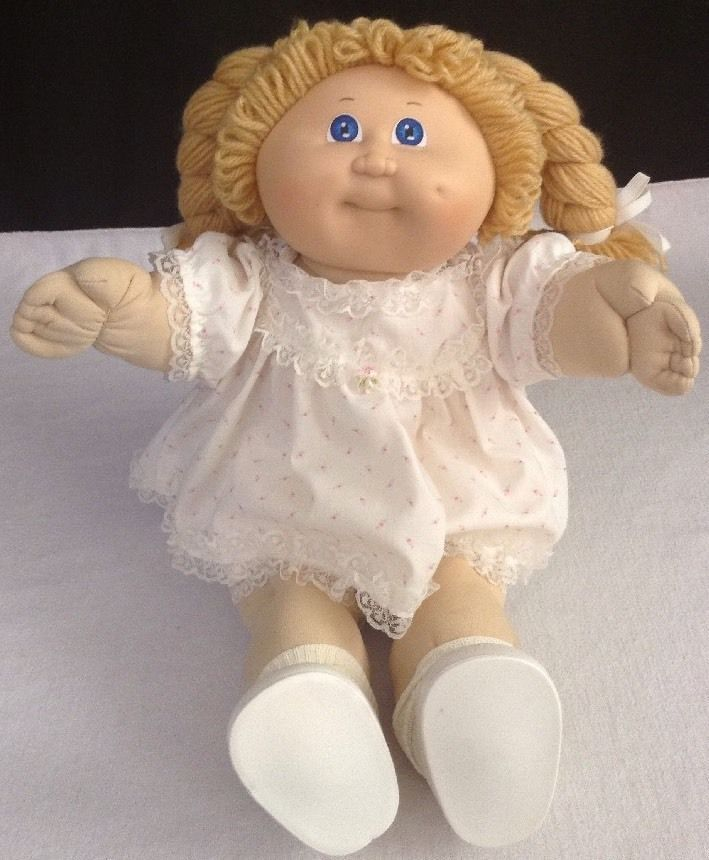 Vtg 1982 Cabbage Patch Kids Pig Tail Girl 16 Doll 100 Complete Original Outfit Coleco Cabba Cabbage Patch Kids Cabbage Patch Kids Dolls Cabbage Patch Dolls