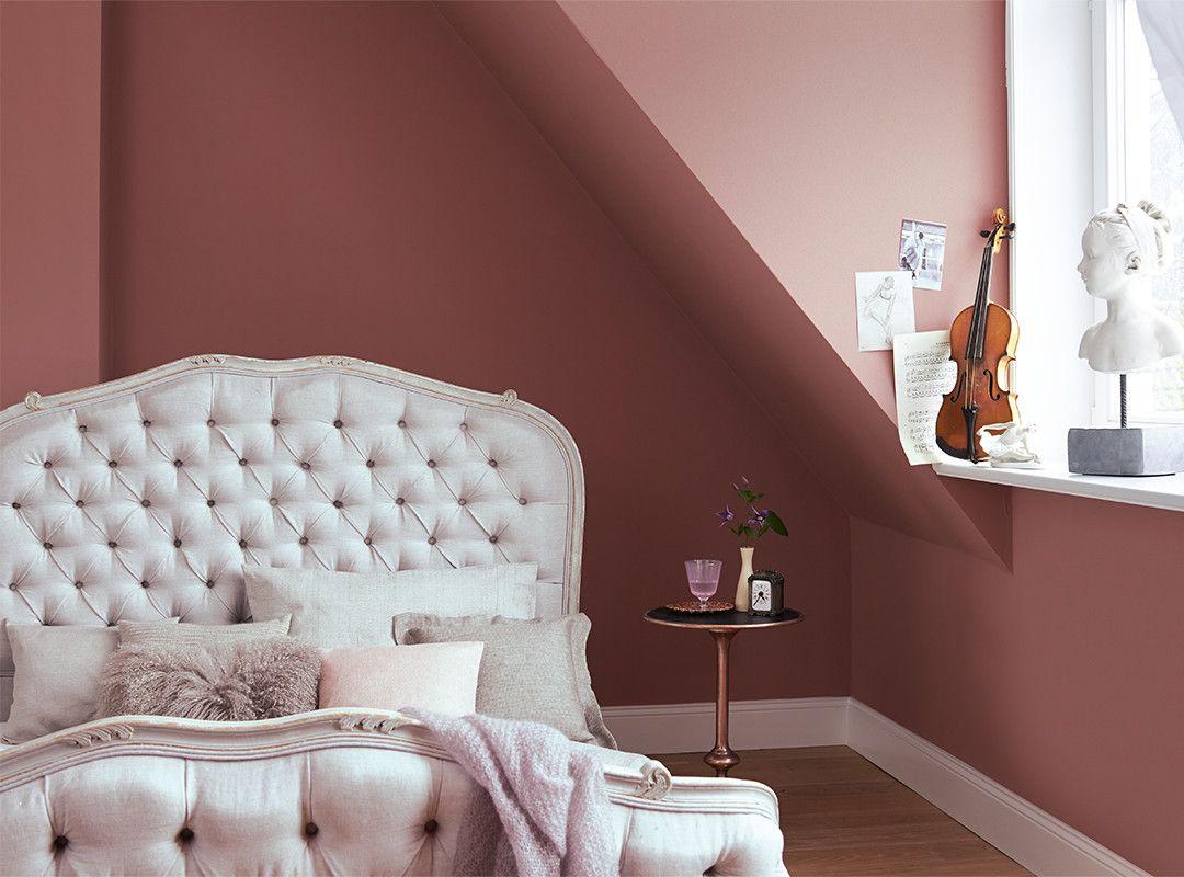 Schlafzimmergestaltung farben ~ Wohnraumgestaltung mit frischen farben lila und grau home