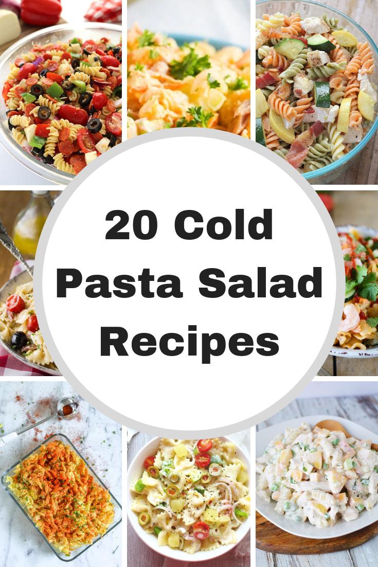Cold Pasta Salad Recipes Easy Pasta Salad Recipe Easy
