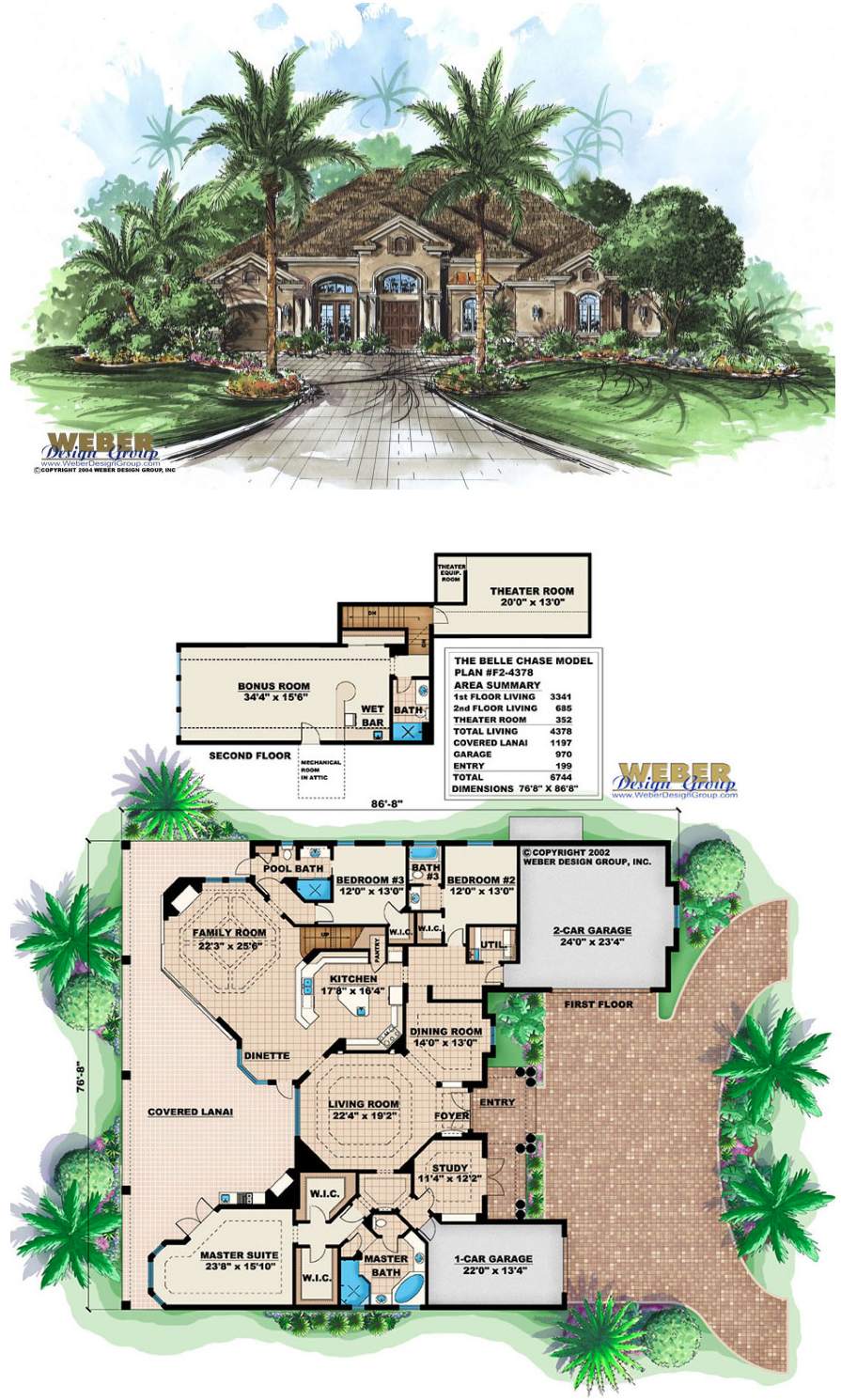 Mediterranean House Plan Contemporary Golf Course Home Floor Plan House Plans Mediterranean House Plan Mediterranean House Plans