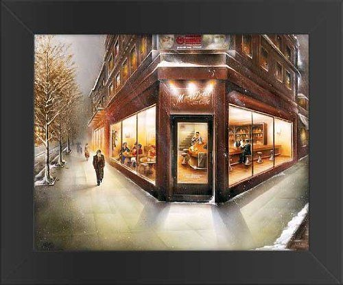 11x14 FRAMED Rogelio Magrini Mon Petit Cafe Art Poster Print  Price : $28.99 http://www.innerwallz.com/11x14-FRAMED-Rogelio-Magrini-Poster/dp/B00HMQK6EK