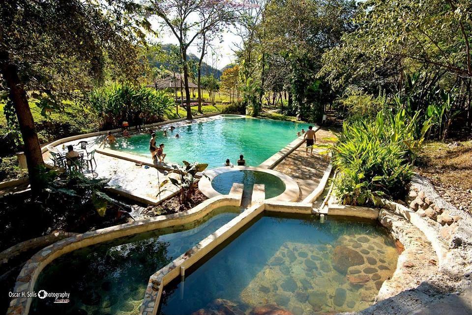 "Agua termales ""Terma del Rio"" en Gracias, Lempira | Outdoor, Outdoor decor,  Pool"