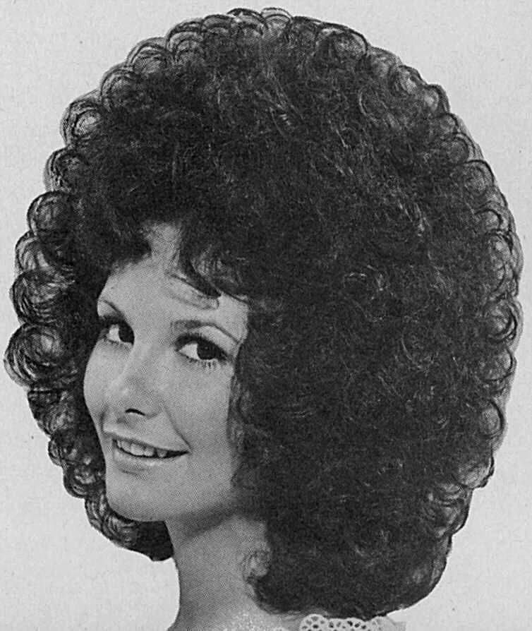 coiffure courte frisee curly pinterest vintage hair 70s hair and vintage hairstyles. Black Bedroom Furniture Sets. Home Design Ideas