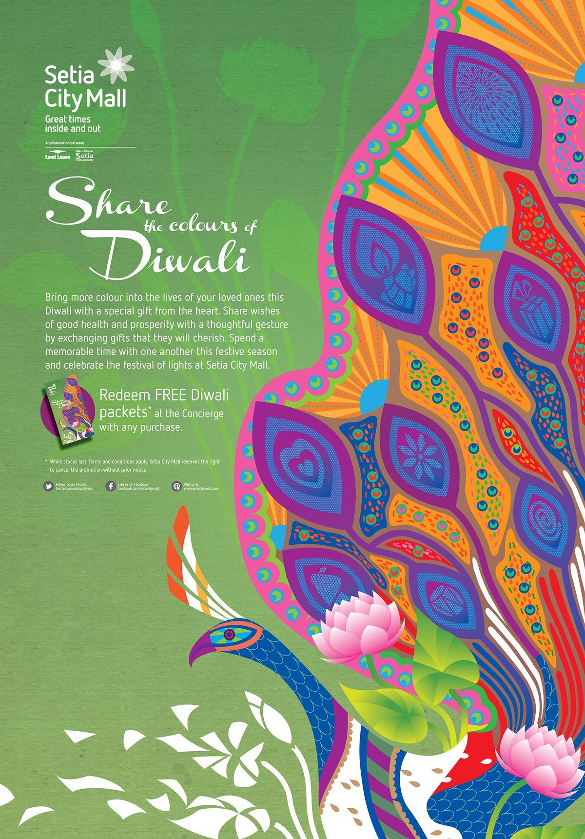 Setia city mall deepavali poster on behance indian pinterest setia city mall deepavali poster on behance m4hsunfo