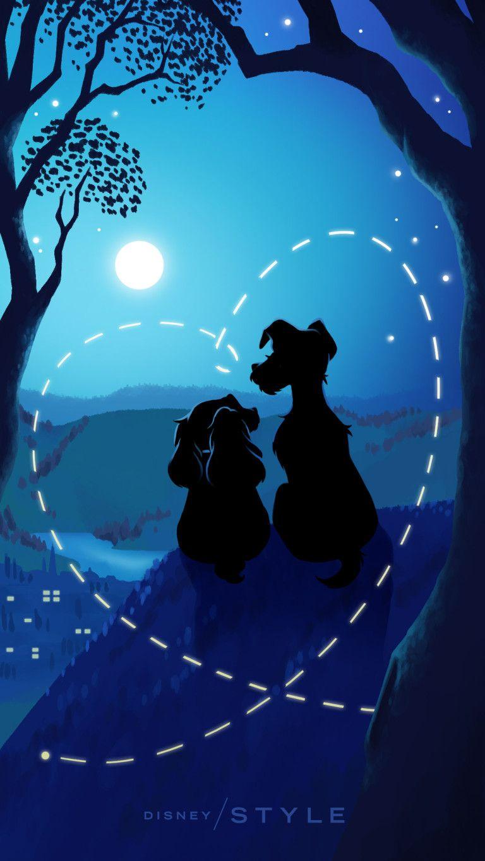 Lady The Tramp Wallpaper Disney Fond D Ecran Mickey Dessins De Personnages Disney