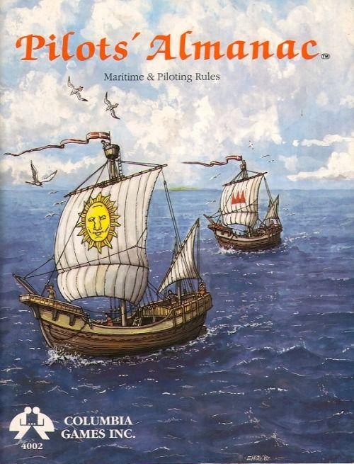 HârnMaster: Pilot's Almanac ~ Columbia Games (1988)