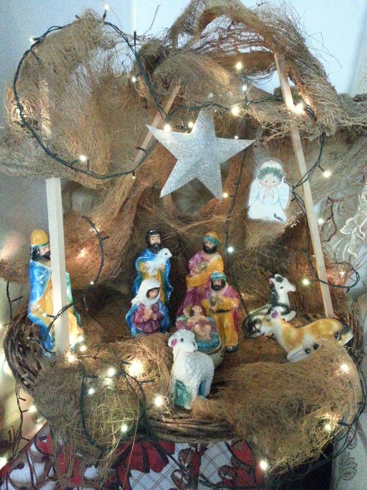 jesus birth christmas craft | Things I love | Pinterest | Craft