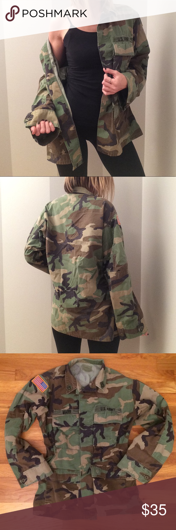U S Army Baggy Oversized Camo Jacket Camo Jacket Clothes Design Fashion Design [ 1740 x 580 Pixel ]