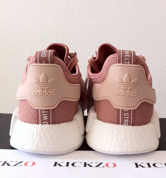 f23e1784ecfa Adidas NMD R1 W Raw Pink Rose Salmon Peach S76006 Womens