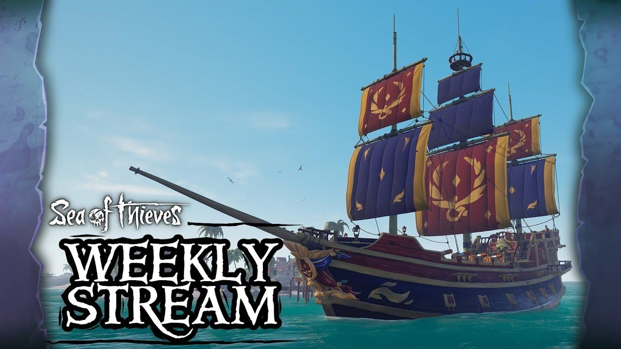 Sea of Thieves Weekly Stream The Sea Dogs (With images