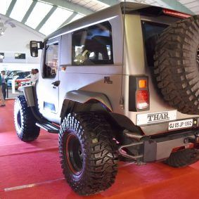 Mahindra Thar Daybreak Edition Showcased With Fixed Roof