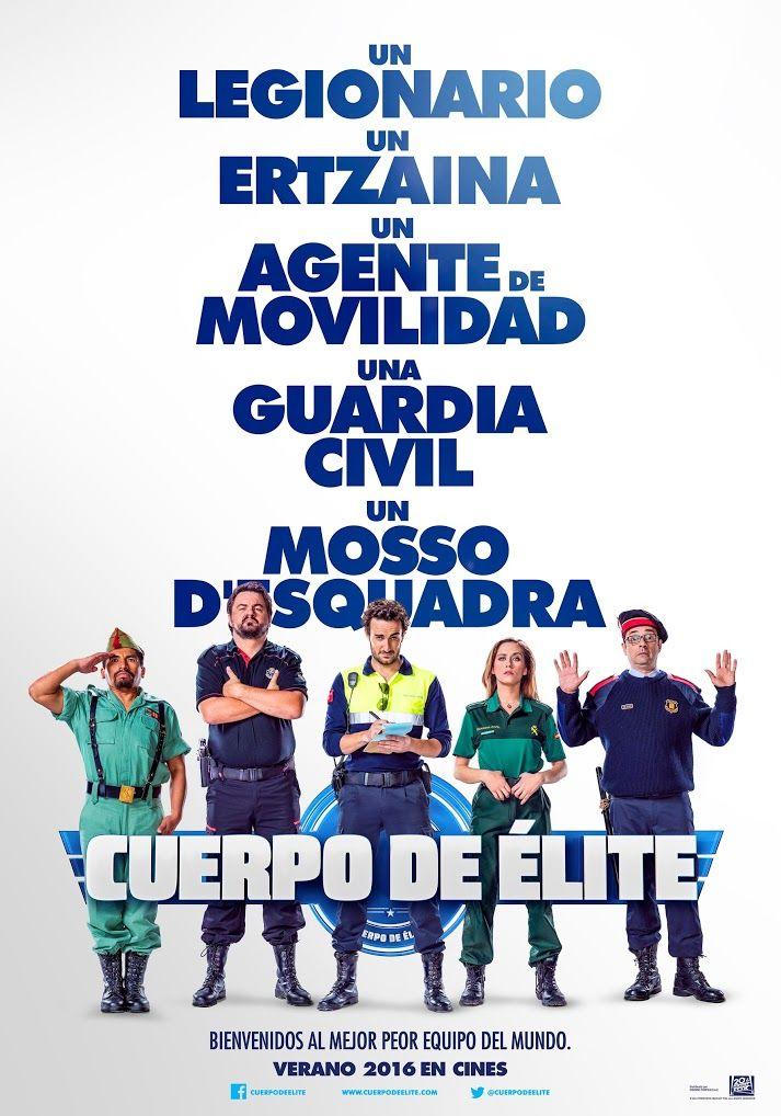 Cuerpo de élite (2016), de Joaquín Mazón