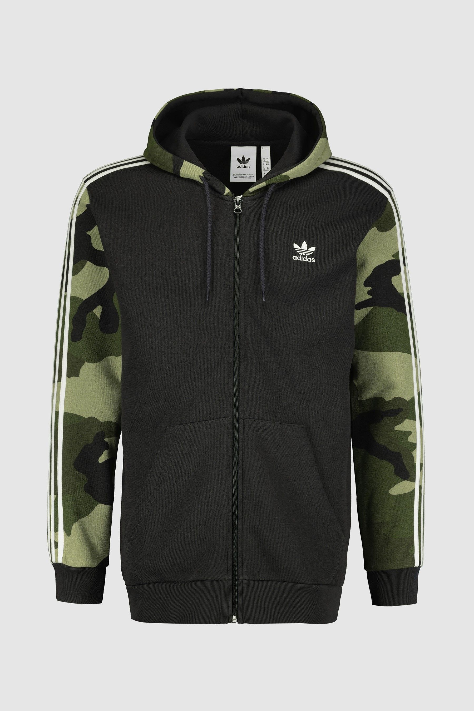 adidas Originals Camo 3 Stripe Full Zip