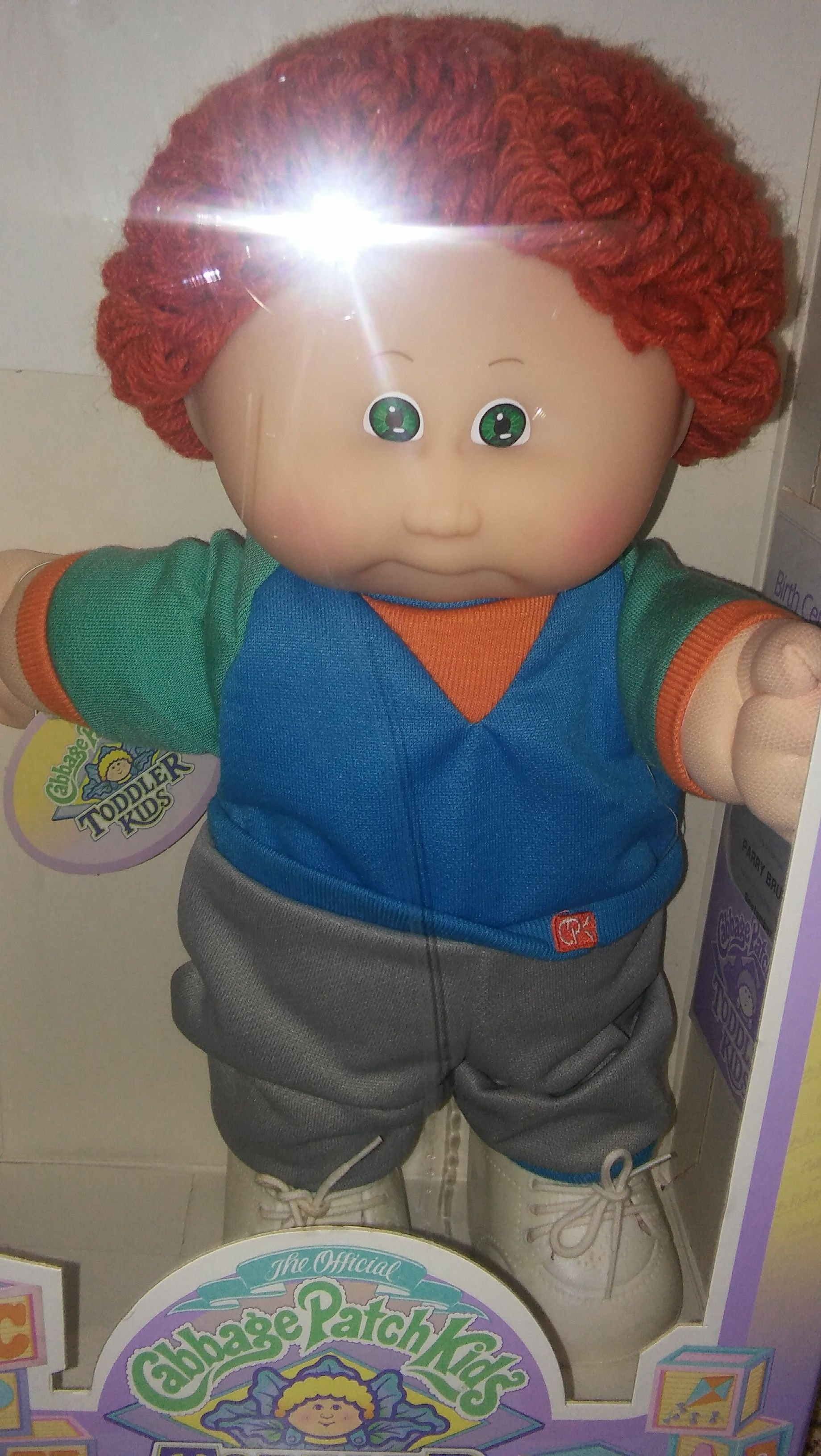 Cabbage Patch Kid Toddler Known As Parry Bruno Cabbage Patch Kids Dolls Cabbage Patch Kids Cabbage Patch Dolls