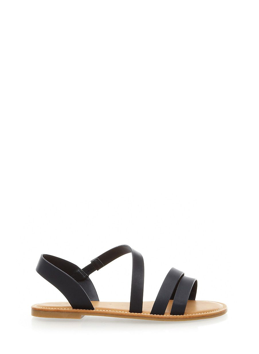 9d1d0e5ac Rainbow Shops Strappy Flat Slingback Sandals  12.99