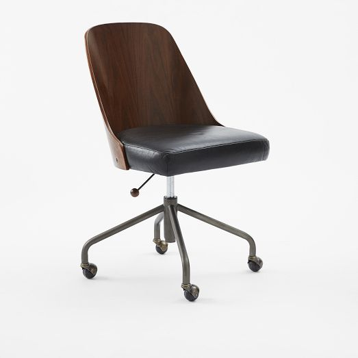 lowest price 78751 02feb Bentwood Office Chair | west elm Guest Room Desk Chair | Y ...