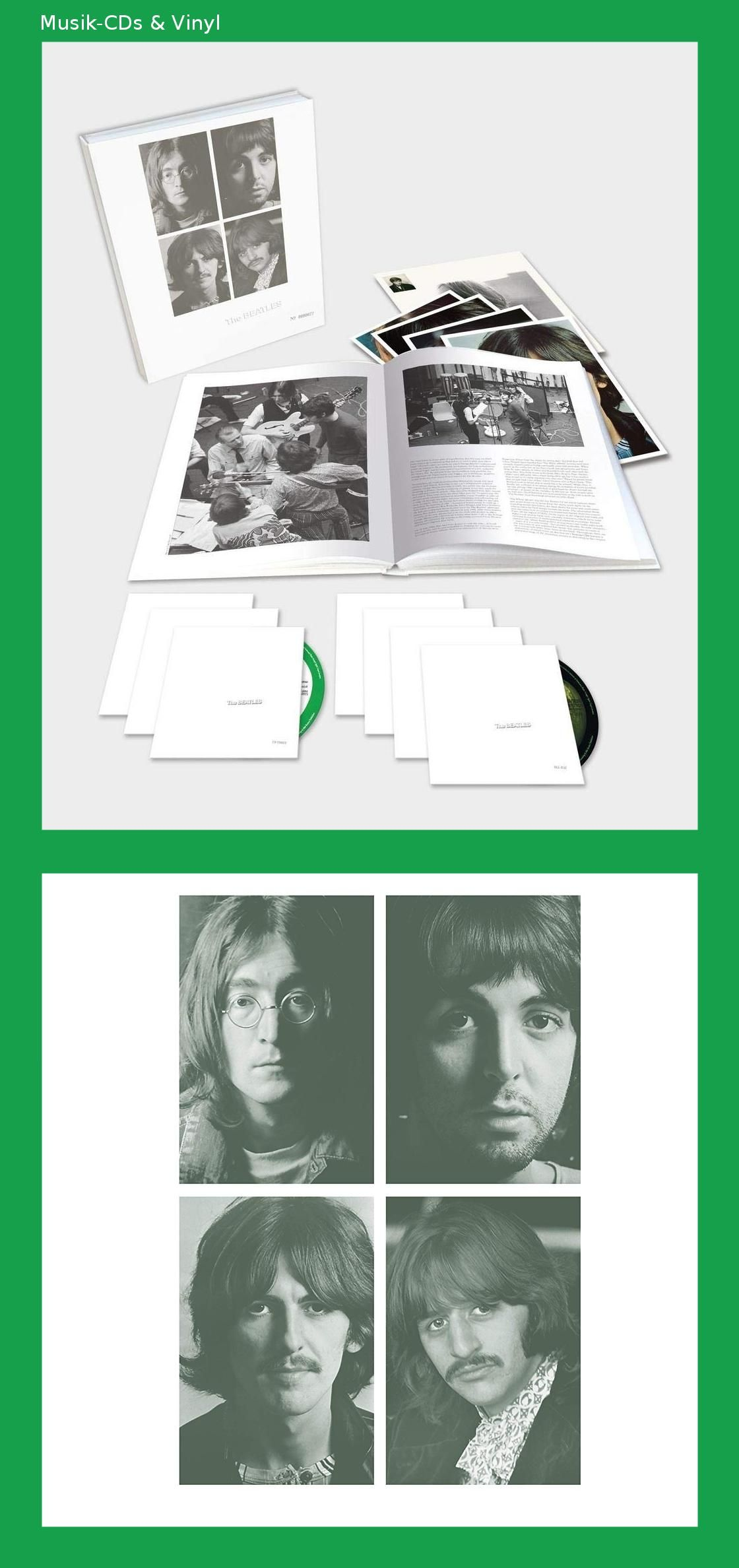 the beatles (white album - limited. 7 disc super deluxe edition)