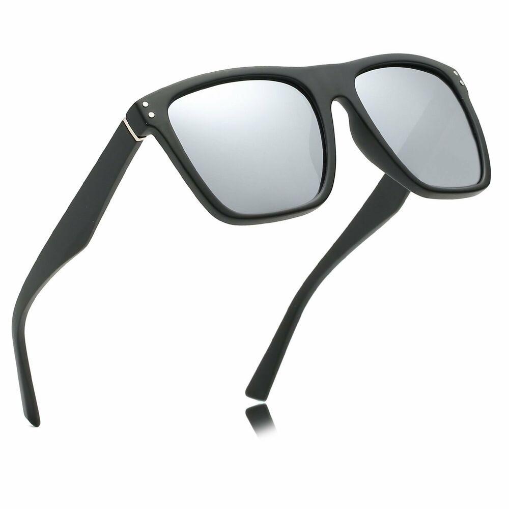 45a197da80b8b Dragon Charm Unisex Classic 80 S Sunglasses For Men Polarized Black Square  Frame  fashion  clothing