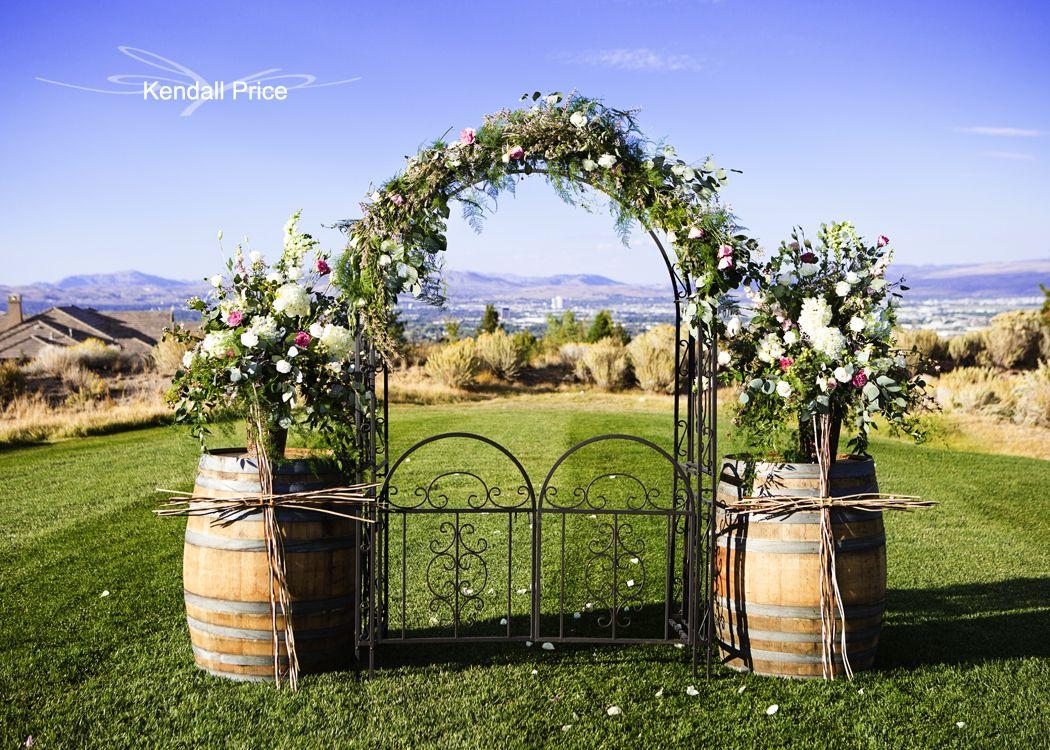 Ceremony details arrowcreek country club wedding reno