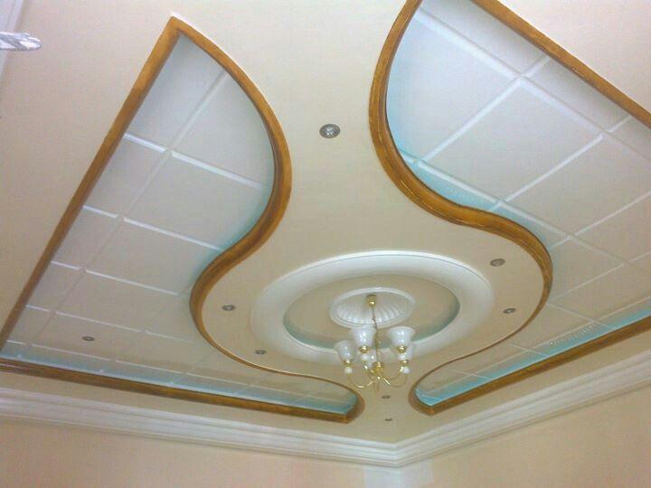 Plafond Suspendu Décoratif vague faux plafond Pinterest Ceilings